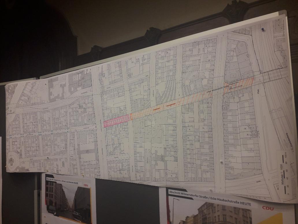 Planung Wilmersdorfer Straße verlängern?