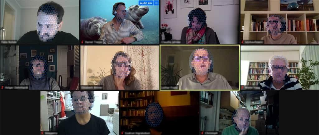 Video-Meeting der Karl-August-Kiez-Initiative