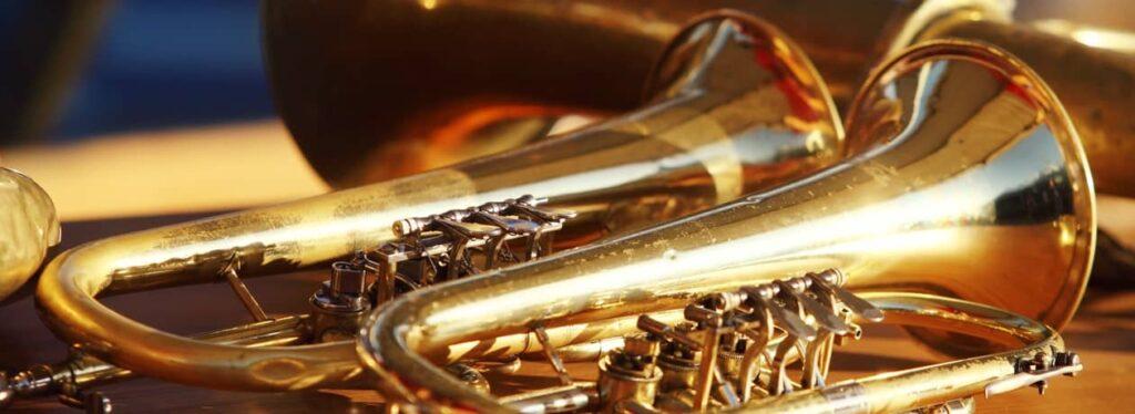"""Der """"Berliner Posaunenchor"""" spielt auf der Fête de la Musique 2021."""